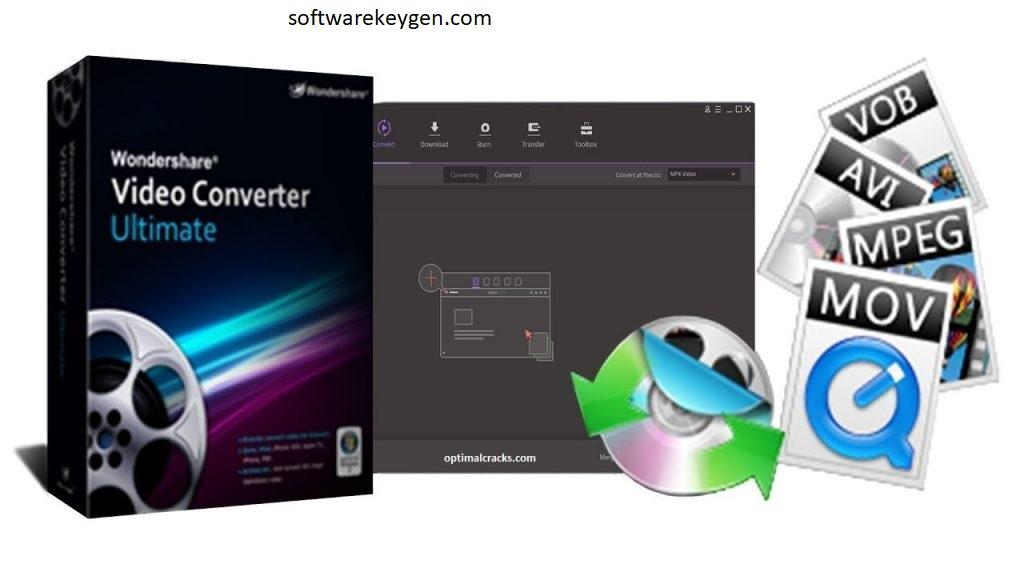 Wondershare Video Converter Ultimate 11.7.6.1 Crack & Key (Torrent)