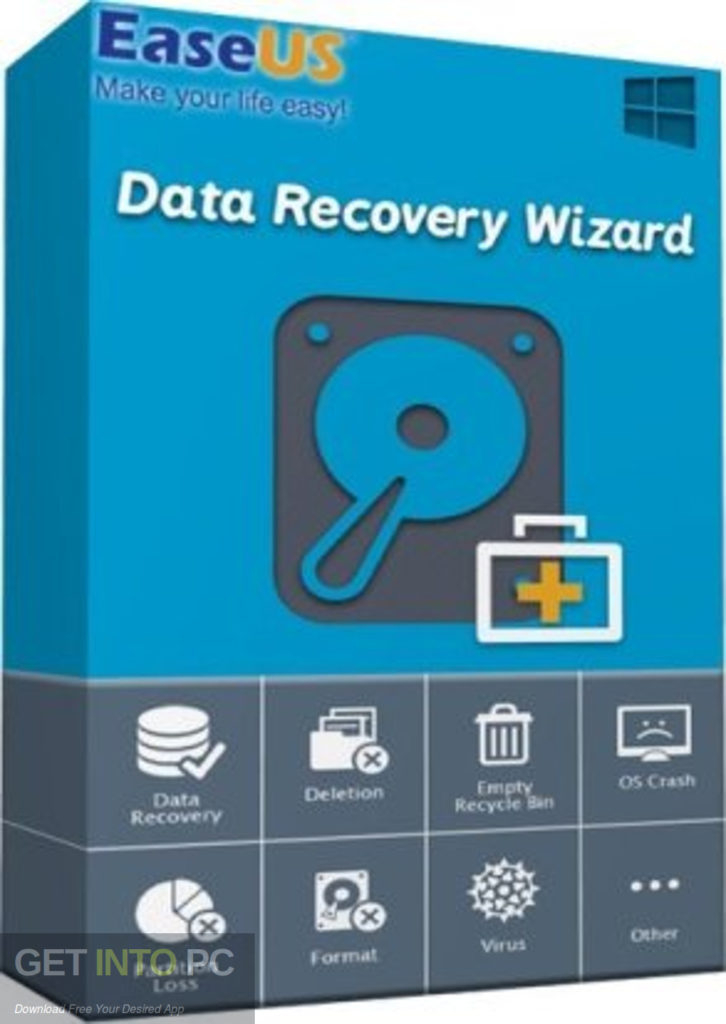 EaseUS Data Recovery Wizard Technician 13.5 With Crack [Latest]