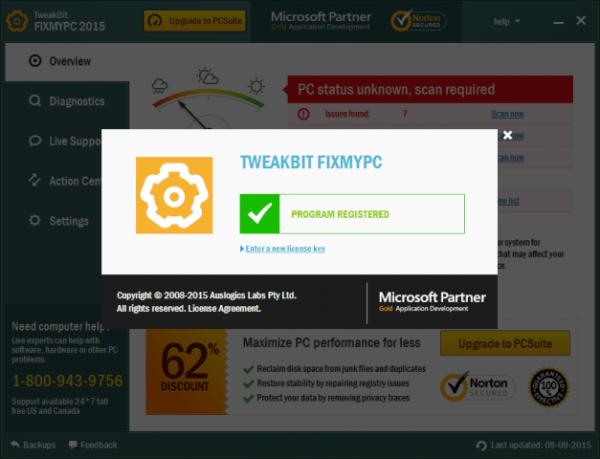 TweakBit FixMyPC 1.8.2.9 Crack with License Key [2020]