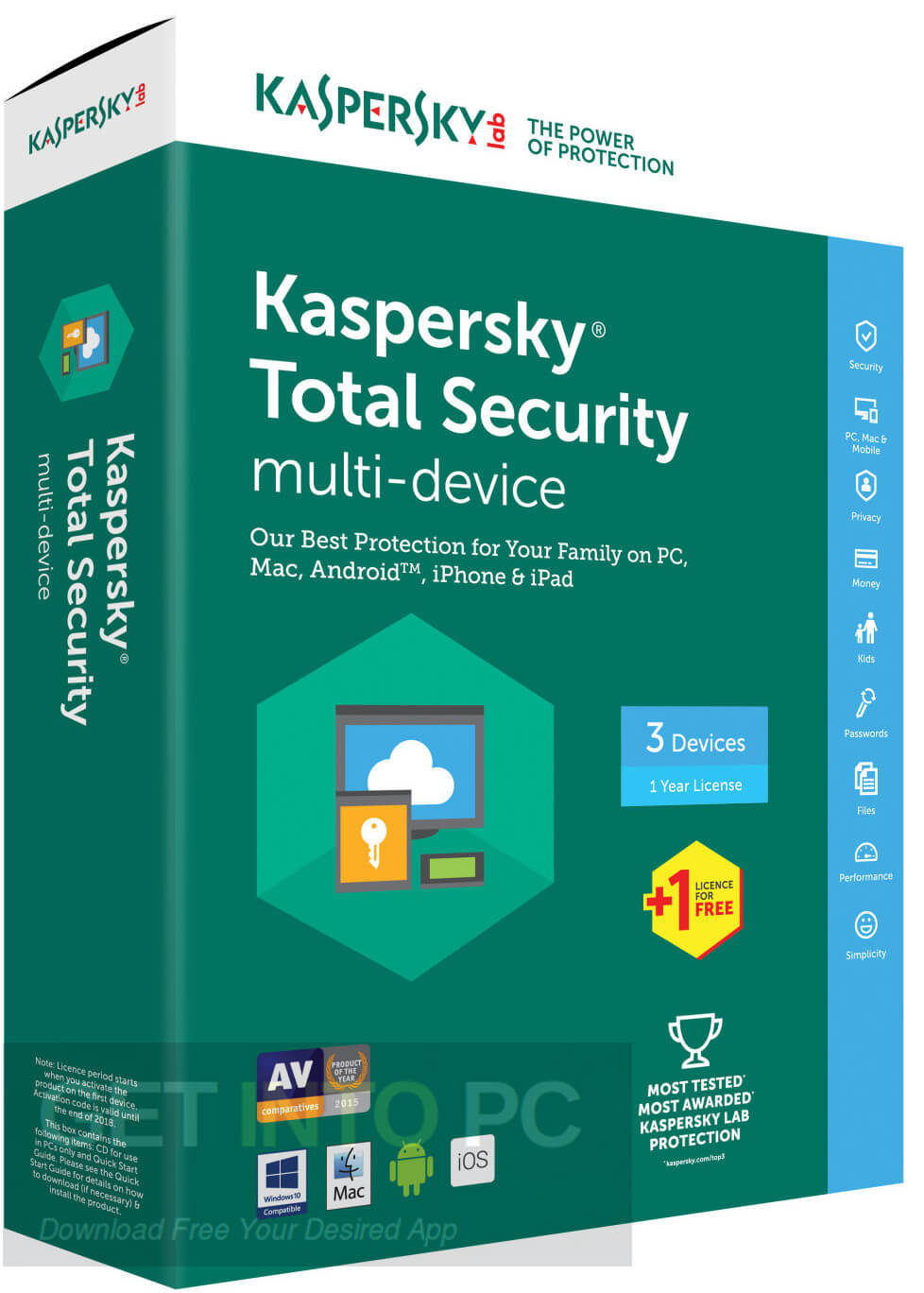 Kaspersky Total Security 2020 Crack With Activation Code [Latest Version]