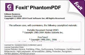 Foxit PhantomPDF Business 11.2 Crack + Key [Latest]